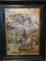 Akademisches Gemälde Karl Meisenbach 1898 Nürnberg - 1976 München signiert