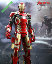 "READY NOW NEW HOT TOYS AVENGERS 2 AGE OF ULTRON IRONMAN MARK XLIII 20"" 490MM 1/4"