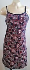 NWT Dress with build in padded bra Cotton Spandex Stretch Size M One Step Up