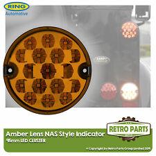 95mm Amber LED Indicator Lamp Light Upgrade Land Rover 90 110 Defender NAS