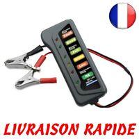 LED Numérique Batterie Alternateur Testeur Niveau Moniteur Voiture Auto Moto