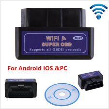 ELM327 WiFi OBD2 II For iPhone Android/PC Car Fault Code Diagnostic Scanner Tool