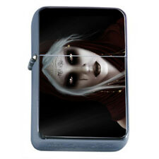 Hot Anime Witches D13 Flip Top Dual Torch Lighter Wind Resistant
