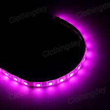 "LED Light Neon Adhensive Strip 11"" PC Computer Case Flexible 12V 4 Pin 7 Color"