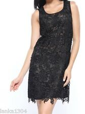 Black or Purple Lace Shift Tight Party Dress Gown (NEW) Different Sizes £40.00