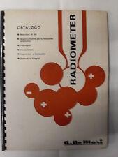 CATALOGO RADIOMETER A. DE MORI