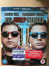 Channing Tatum Jonah Hill 22 JUMP STREET ~ 2014 21 2 UK Blu-ray with Slipcover