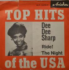 "DEE DEE SHARP - Ride the Night Ariola HiFi 10078 at 7 "" (K567)"