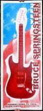 BRUCE SPRINGSTEEN TX 2008 SILKSCREEN CONCERT POSTER S/N