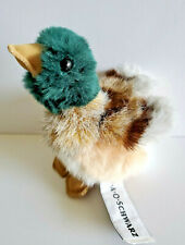 "Fao Schwarz Duck Mallard Green Head Duckling Stuffed Animal Plush Toy Mini 4"""