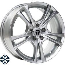 4x Tomason Easy 7,0x16 5x112 ET42 ML73,1 silver painted Audi Seat Skoda VW