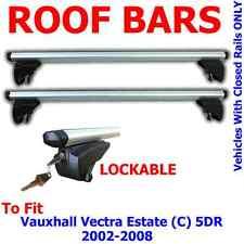 Vauxhall Vectra Estate (C)  5 Door 02>08 Aluminium Locking Aero Roof Bars