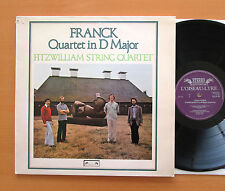 DSLO 46 Franck Quartet in D Major Fitzwilliam String Quartet L'Oiseau-Lyre NM/EX