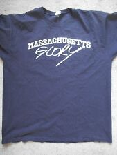 Wolf Whistle massachusetts glory T shirt sxe hxc straight edge have heart XL