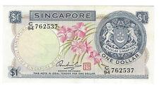Singapore 1 Dollar 1972 AU pn 1d