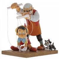 Disney Enchanting Little Wooden Head (Pinocchio Figurine) Enesco A29296