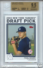 PHIL HUGHES Twins 2004 Topps Traded BGS 9.5 graded GEM MINT !!