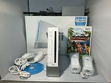 Nintendo Wii Console White RVL-001 + Wii Fit Plus Complete in Box Lego Star Wars