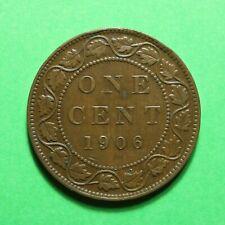 1906 Canada 1 Cent SNo23989