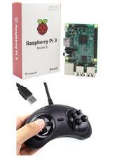 Para Raspberry Pi 3 Sega Mega unidad USB 6 botón controlador de game pad PC-MAC