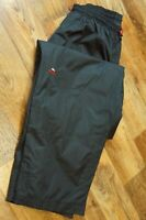 Men's MC KINLEY Waterproof Hiking Active Trousers Overpants Black Size S Small