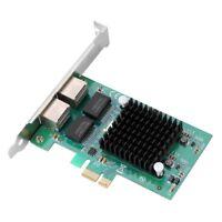 For Intel 82575EB PCI-E Gigabit PCIe Ethernet Server Adapter Network LAN Card🔥