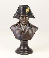 Bronze Skulptur Büste Napoleon farbig neu 9973297-dssp