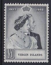 British Virgin Islands George VI Era 1936-1952 Stamps