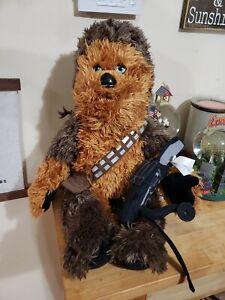 "Build a Bear Chewbacca Star Wars Plush 23"""