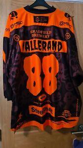 Sheffield Steelers Halloween Marco Marc Olivier Vallerand Netminder XL Jersey