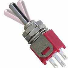 5 Kippschalter SUB Miniatur TAST-AUS-TAST hochwertige Salecom Industriequalität