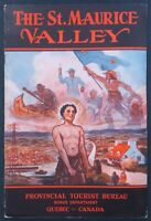 Brochure touristique THE St MAURICE VALLEY CANADA QUEBEC