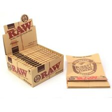 RAW Artesano King Size Slim Rolling Papers - 32 Papers + Tips + Rolling Tray