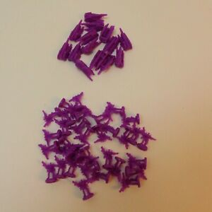 Parker Brothers Risk Transformers Cybertron Game 47 Replacement Pieces Purple