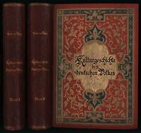 Otto Henne am Rhyn: Kulturgeschichte des deutschen Volkes (1886). 2 Bände.