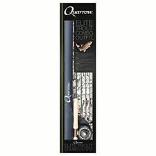 Quarrow Elite Trout Fly Fishing Combo Outfit (Rod, Reel, Lines & Case)