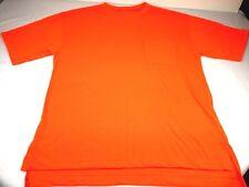 Walls Workwear Men's Medium T-shirt Construction Orange Short Sleeve Pocket Crew