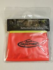 Team Realtree Dog Reflective Safety Vest Sz Large 50 Pounds Orange