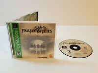 Final Fantasy Tactics (Sony PlayStation 1, 1998) ps1 gh greatest hits complete