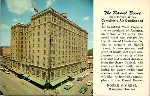 The Daniel Boone Hotel Charleston West Virginia Postcard