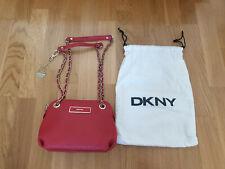 DKNY bolso de cuero señora bandolera clutch pochette bolso de piel Dam