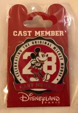 Pins 90 Ans Mickey 1928 exclusif Cast Member Edition Spéciale