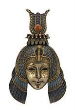 "10.75"" Cleopatra Headdress Mask Wall Plaque Egyptian Egypt Home Decor"