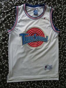 RARE MICHAEL JORDAN TUNE SQUAD JERSEY FROM SPACE JAM MOVIE Size S