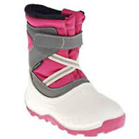 Fur Lined Snow Boots Infant Waterproof Wellies Decathlon children girl boy £20
