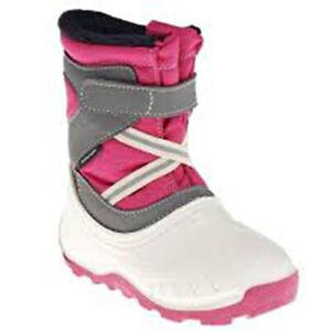 Fur Lined Snow Boots Infant Waterproof Wellies Decathlon children girl boy £20