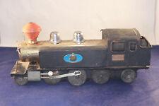 Marusan Bulldog Japan 2-6-2 Loco & Box Cars Pressed Steel Train For Parts