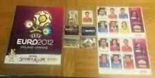 * Panini EURO 2012 - Rare New Empty Album + Unused Stickers - Free UK Postage *