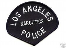 LOS ANGELES POLICE DEPARTMENT LAPD SUBDUED LAPD NARCOTICS SHOULDER PATCH