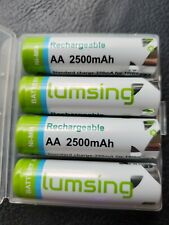 Lumsing AA 2500mAh Rechargeable Battery 4-Pack